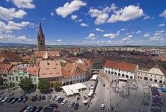 Sibiu a Transilvânia Romania Imagens de Stock