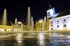 Sibiu in Transsylvanië, Roemenië Stock Afbeelding