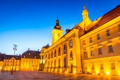 Sibiu, Transylvania, Romanai Stock Image