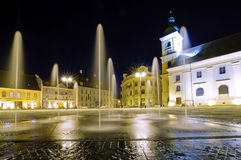 Sibiu in Transylvania, Romania Stock Image