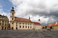 Sibiu Transylvania Romania Royalty Free Stock Photos