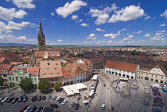 Sibiu Transylvania Romania Stock Images