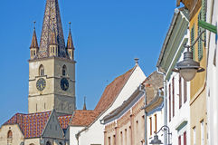 Sibiu, Transylvania, Romania Royalty Free Stock Photography