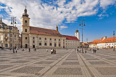 Sibiu, Transylvania, Romania Royalty Free Stock Photos