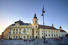 Sibiu, Transylvania, Romania Stock Photos