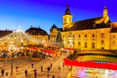 Sibiu Transylvanie Roumanie Photographie stock libre de droits