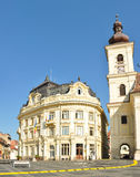 Sibiu urząd miasta Obraz Royalty Free