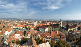 Sibiu view Royalty Free Stock Image