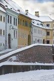 Sibiu in winter Stock Image