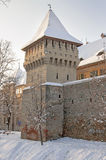 Sibiu in winter Royalty Free Stock Photography