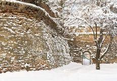 Sibiu in winter Stock Images