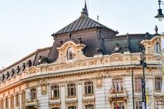 SibiuHermanstadt, Ρουμανία τη νύχτα στοκ εικόνα με δικαίωμα ελεύθερης χρήσης