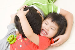 Sibling bonding Stock Photography