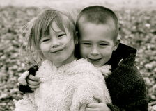 Sibling fun Royalty Free Stock Images