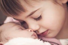 Sibling liefde Stock Foto's