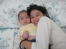 Sibling liefde Royalty-vrije Stock Afbeelding