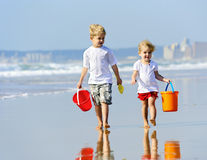 Sibling love Stock Images