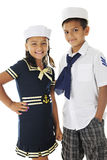 Sibling Sailors Stock Image
