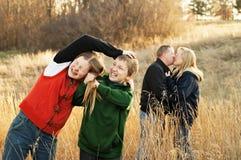 Sibling Vijandigheid Royalty-vrije Stock Afbeeldingen