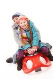 Siblings Royalty Free Stock Images