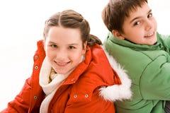 Siblings Stock Images