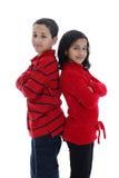 Siblings Royalty Free Stock Photos