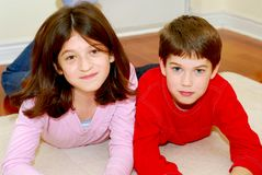 Siblings Stock Photos