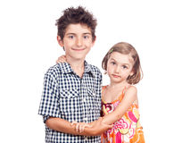 Siblings Royalty Free Stock Image
