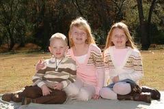 Siblings stock afbeelding