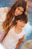 siblings Fotografie Stock Libere da Diritti