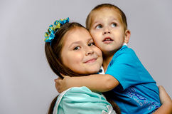 siblings Fotografia de Stock Royalty Free