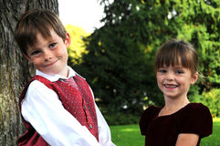 siblings Photo libre de droits