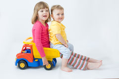 Siblings Royalty Free Stock Images