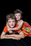 Siblings Royalty Free Stock Photo