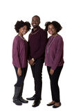 3 siblings or friends Royalty Free Stock Photo
