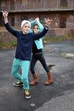 Siblings rappers Stock Photos
