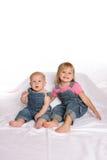 Siblings1 generale Fotografie Stock