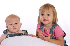 Siblings3 generale Fotografia Stock Libera da Diritti