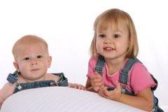 Siblings3 total Foto de archivo libre de regalías