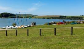 Siblyback湖博德明停泊康沃尔郡英国英国 库存图片