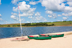 Siblyback Lake Royalty Free Stock Photography