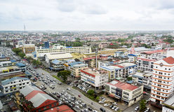 Sibu City Skyline Royalty Free Stock Photos