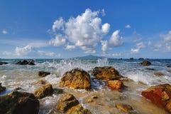 Sibu island beach Royalty Free Stock Photos