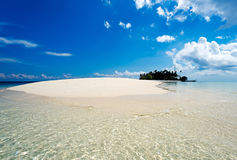 Sibuan Island near Sipadan Mabul Island in Sabah Borneo Stock Images