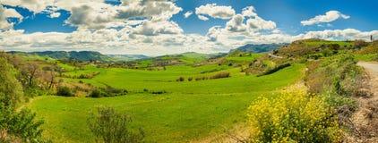 Sicília central Imagens de Stock