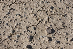 Siccità - asciughi la terra incrinata Fotografia Stock Libera da Diritti
