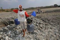 Siccità in Indonesia Fotografia Stock Libera da Diritti