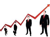 Sich entwickelndes Diagramm Lizenzfreies Stockfoto