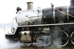 Sich fortbewegender Dampf Stockfoto