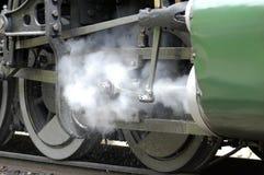 Sich fortbewegender Dampf Lizenzfreie Stockbilder